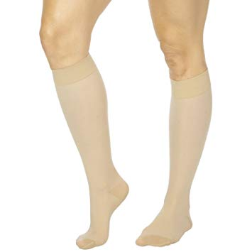 Medically Fitted Compression Hose Can Relieve Vein Symptom