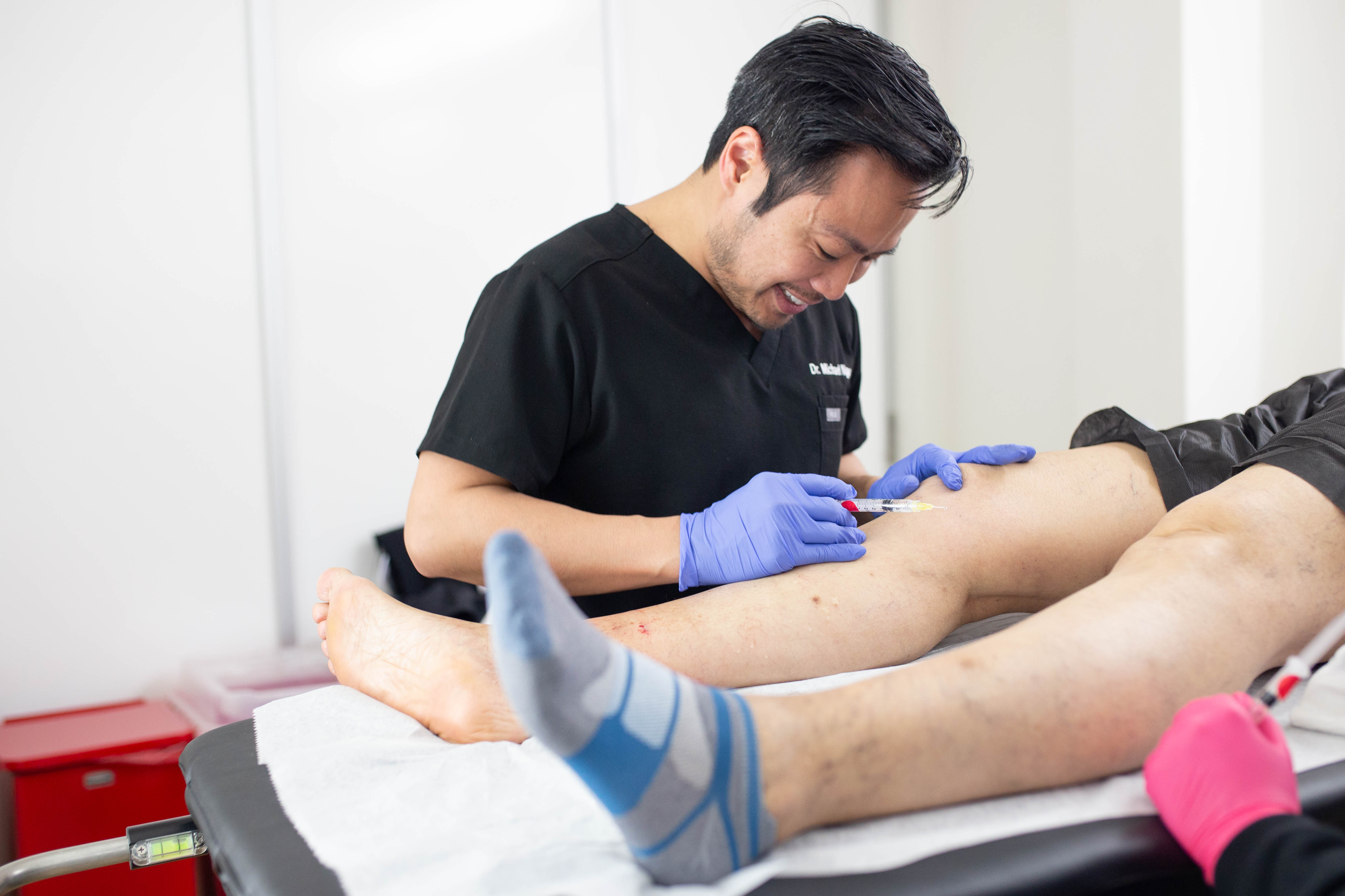 Sclerotherapy treatment is one of the most popular options for managing vein disease. This procedure is fast, minimally invasive, and highly effective.